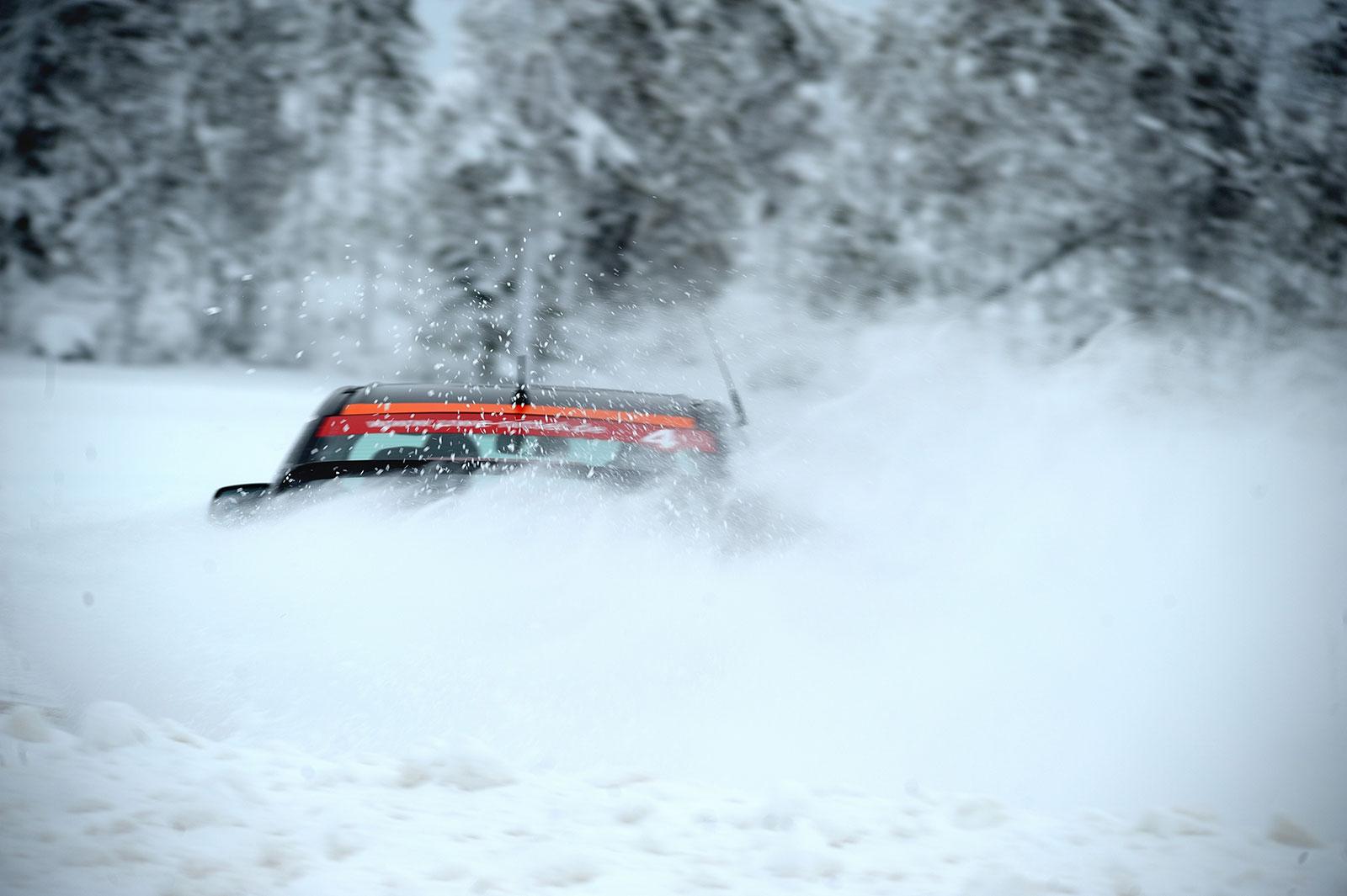 Rallye-Training in Finnland